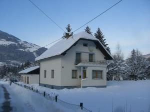 Het huis in de winter